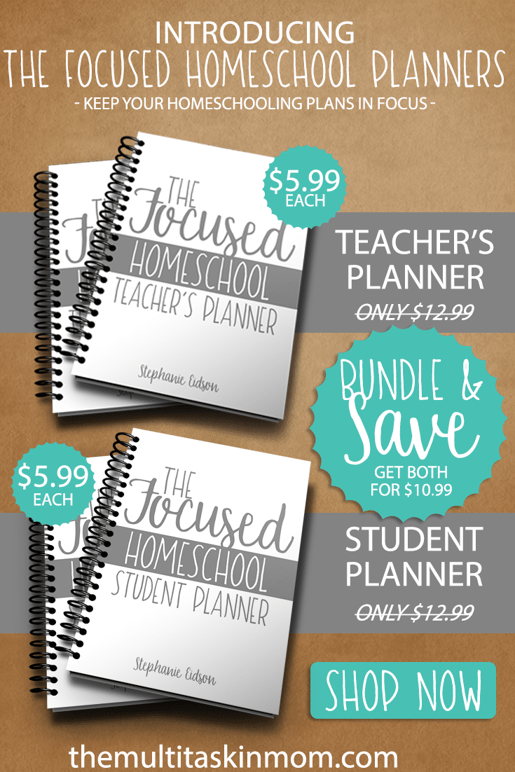 The Focused Homeschool Planners Bundle Price