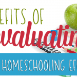 Benefits of Evaluating Your Homeschooling Efforts