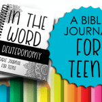 Bible Journal for Teens: Deuteronomy
