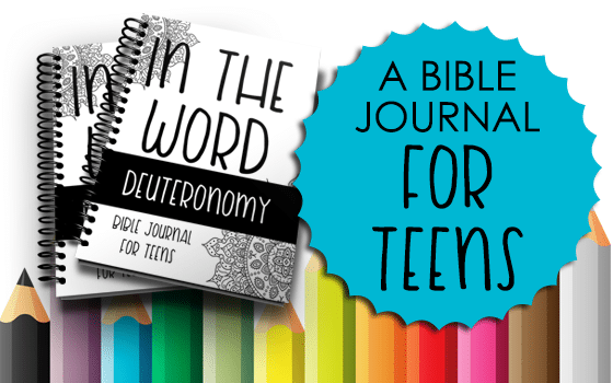 Bible Journal for Teens: Deuteronomy