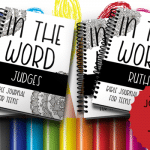 Bible Journal for Teens: Judges and Ruth