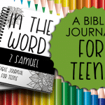 Bible Journal for Teens: 2 Samuel