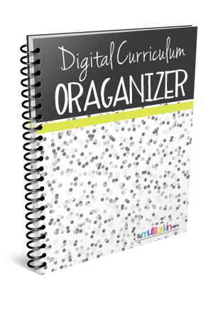 Digital Curriculum Organizer Updated 2018