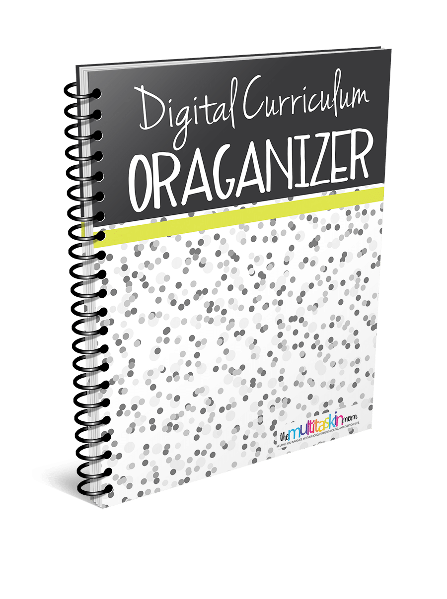 Digital Curriculum Organizer 2018 3D