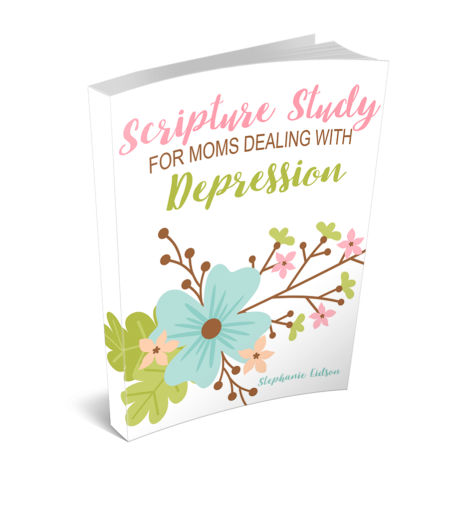 Scripture Study for Moms Dealing with Depression 3D