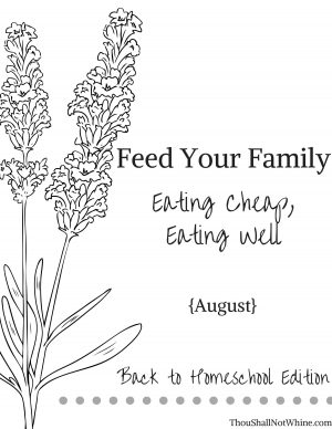 Feed Your Family Meal Plan