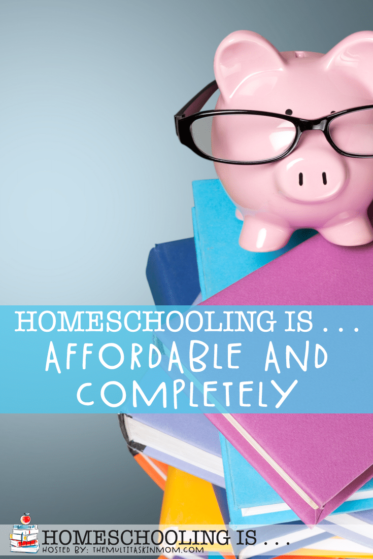 Homeschooling doesn't have to be expensive or rigid. It can be affordable and is completely customizable! Find out how and get some great savings tips! #homeschool #homeschooling #discounts