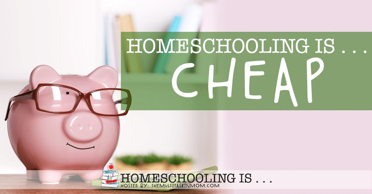 Homeschooling Is Cheap