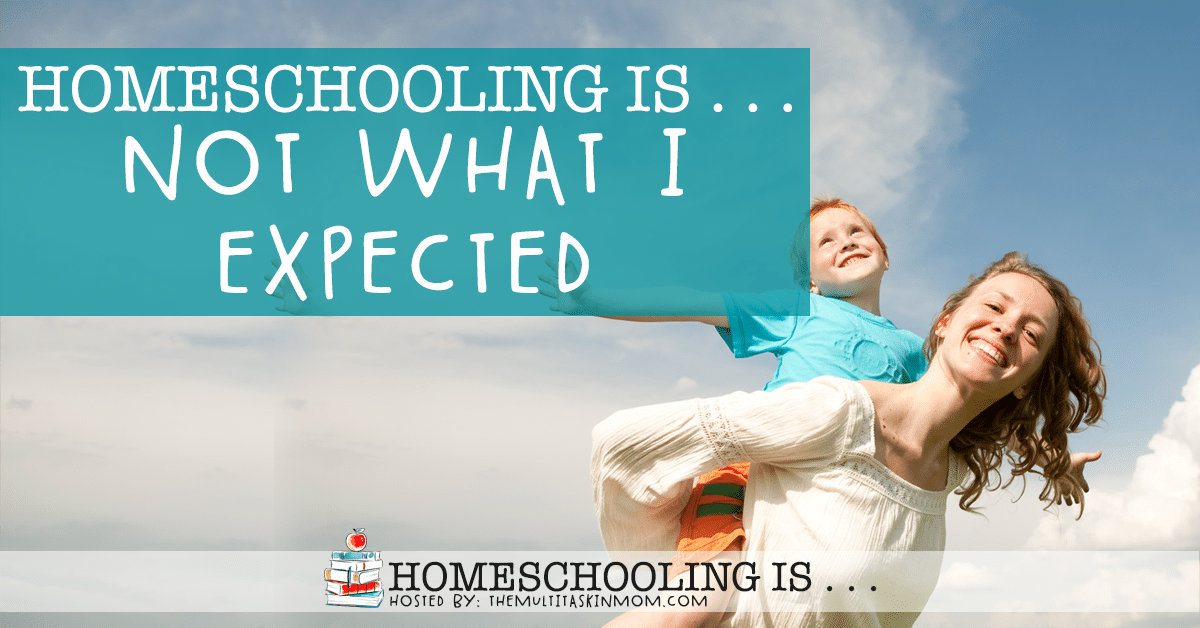 Homeschooling Is Not What I Expected