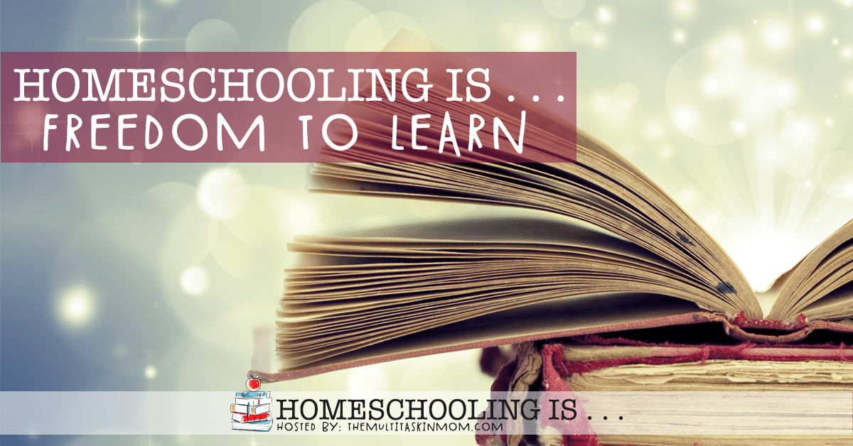 Homeschooling Is the Freedom to Learn