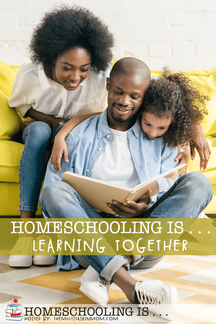 Homeschooling is so much more than teaching our children! When we are homeschooling we are also learning along side our children. #homeschooling #learning #family