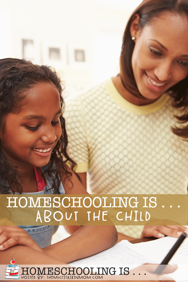 One of the most wonderful things about homeschooling is that it is truly about the child. It allows you the freedom to tailor your child's education to them.