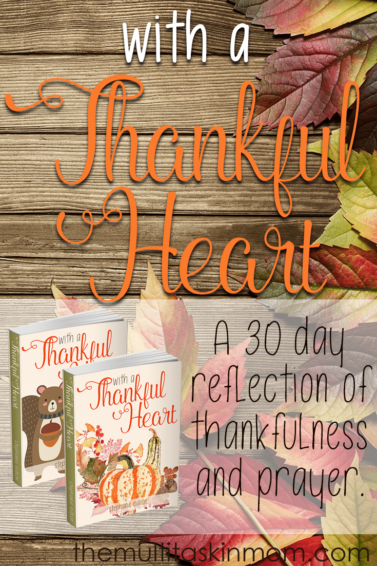 Throughout the year we get to spend time ringing in the new year, celebrating love and cards, and singing Christmas carols. While all of this is fine, it doesn't refocus our hearts toward thankfulness. When we are thankful for the blessings God has given us we tend to be more positive people. Join me for a 30 day reflection of thankfulness and prayer. #thanksgiving #Prayer #biblestudy