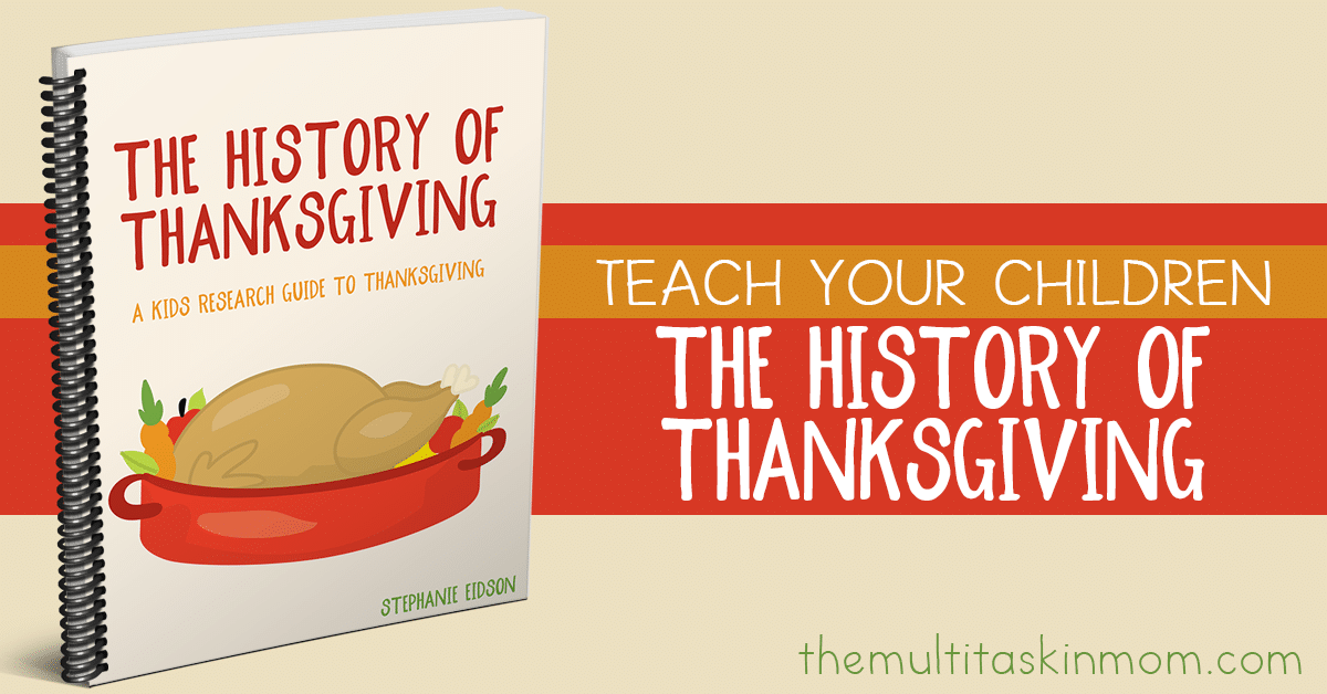 The History of Thanksgiving Research Guide
