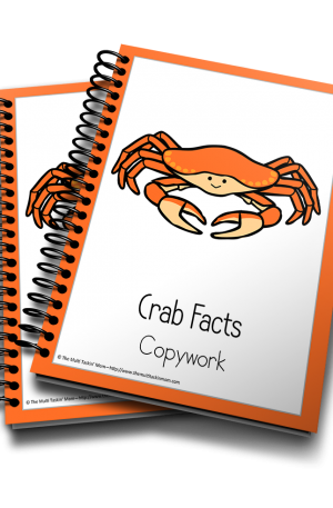 Crab Color and Copywork
