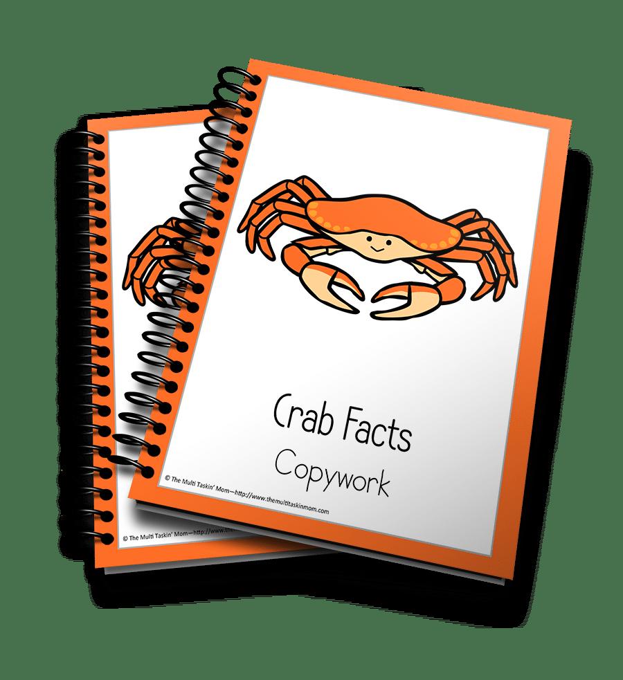 Crab Copywork 3D