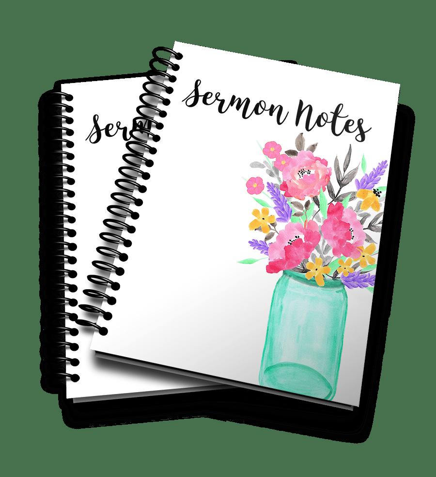 Sermon Notes 3D