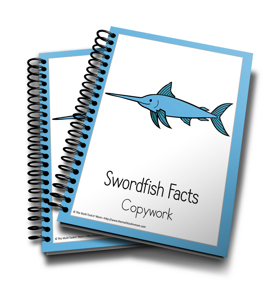 Swordfish Copywork 3D