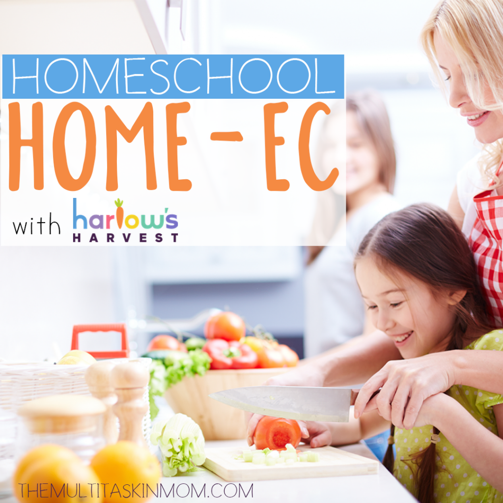 Your homeschool home-ec class just got simpler! The Harlow's Harvest subscription box is the perfect add-on for your homeschool journey.