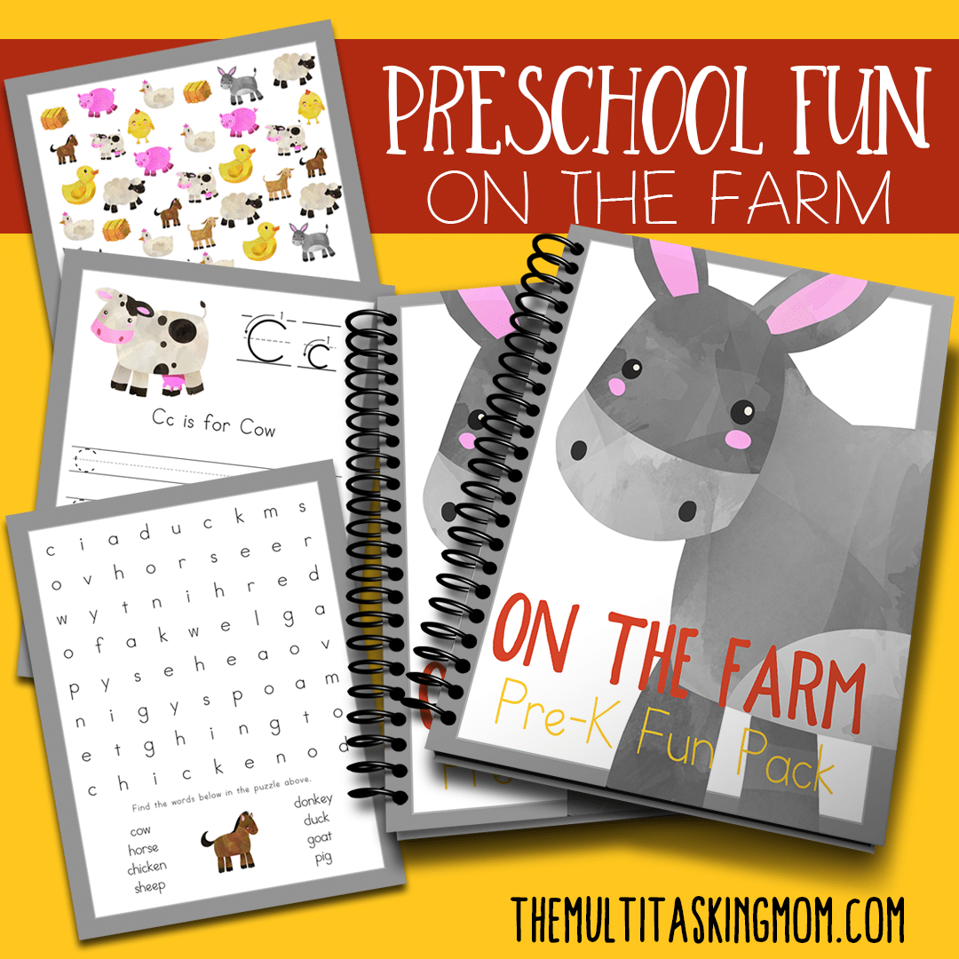 Preschool Fun on the Farm Available Now