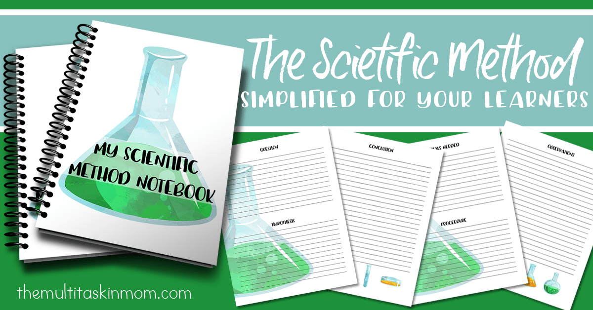 The Scientific Method is Simplified with This Notebook Available Now